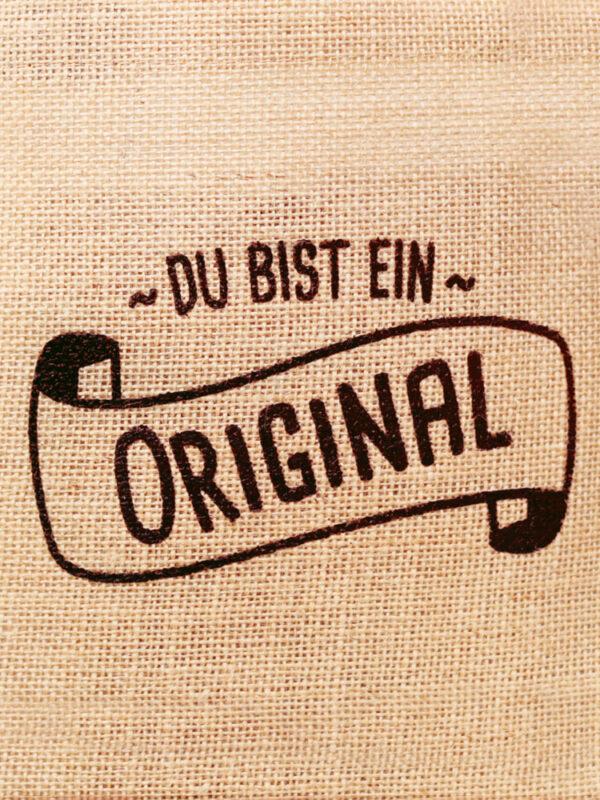Du bist ein Original